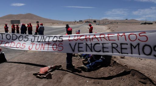 Minera Escondida ratifica que no operará ante huelga de trabajadores