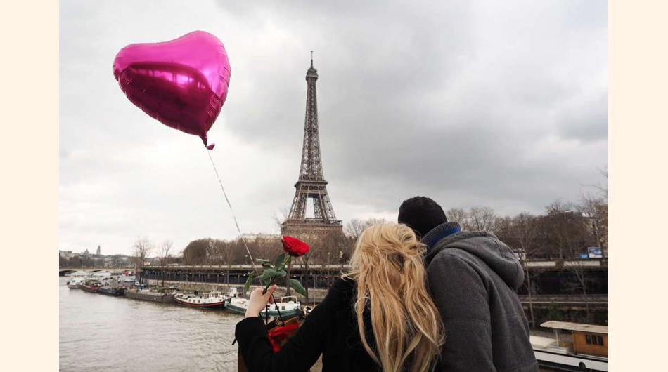 turismo, ciudades, Día de San Valentín