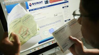 Sunat: independientes estarán obligados a emitir recibos electrónicos al prestar servicios a personas
