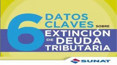 Sunat: Seis datos que tienes que saber sobre al extinción de deudas menores a S/ 3,950