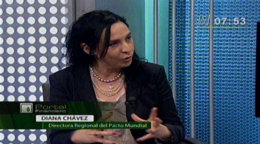 """<b> Tendencia. </b> """"Los mercado premian a las empresas que invierten en educación y salud"""", resaltó Chávez (Video: Canal N)"""