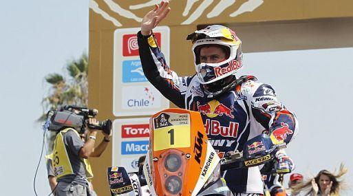<strong>Para ellas.</strong> El multicampeón francés le dedicó su victoria a todas las mujeres que sufren cáncer (Foto: Reuters)