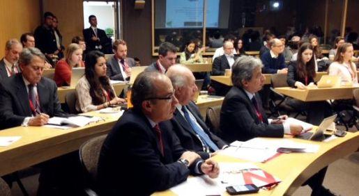 Autoridades mexicanas compartieron con Pulgar-Vidal sobre la experiencia del COP16 de Cancún en una reunión privada. ()