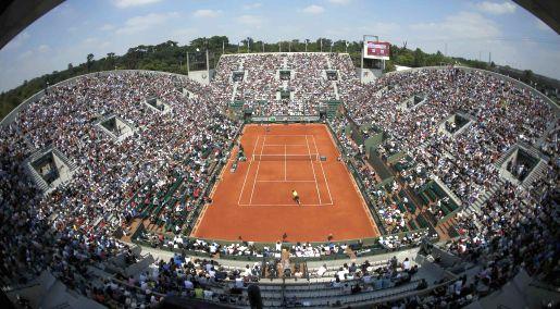 Obras. El alza en las tarifas a los patrocinadores del Roland Garros obedecerá a la necesidad de reformas. (Reuters)