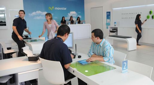 Movistar la empresa de telefon a m vil con los usuarios for Oficinas movistar