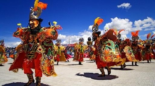 La fiesta se celebra en febrero de cada año en la ciudad de Puno.