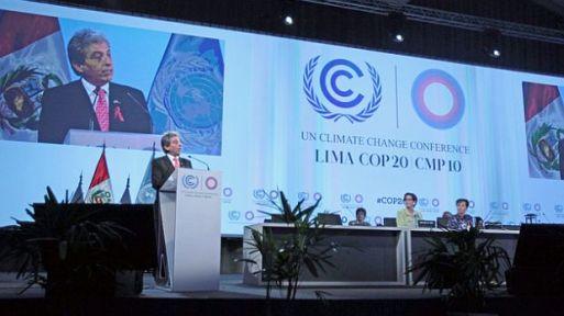 La COP 20 termina este 12 de diciembre.