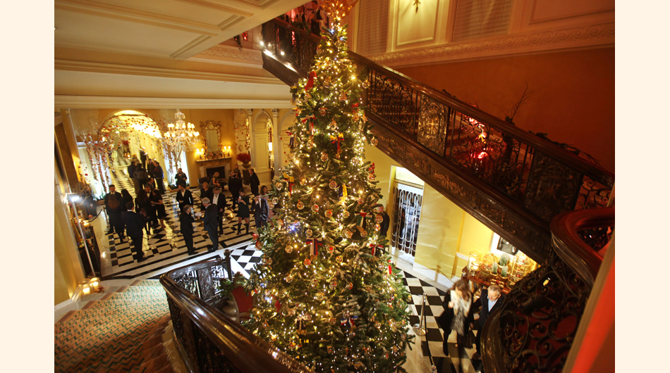 hoteles, Navidad, decoraciones