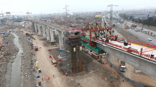Las obras de la Línea 2 del Metro de Lima fue uno de los proyectos adjudicados por ProInversión en el 2014.