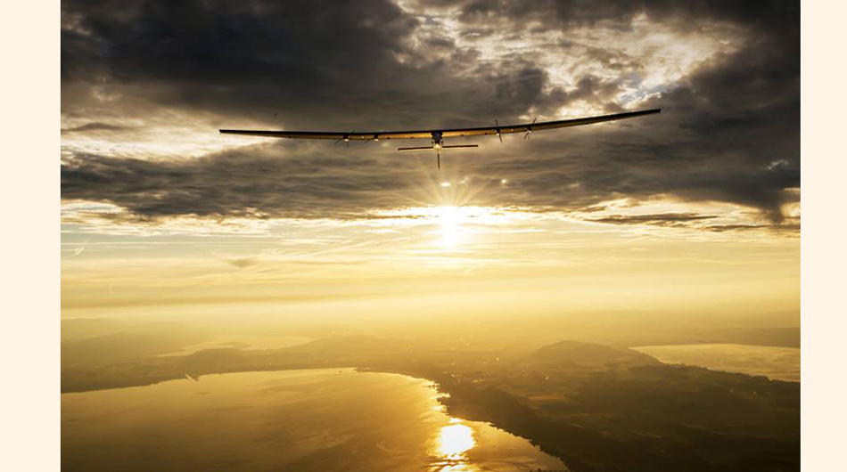energía solar, Solar Impulse, Avion