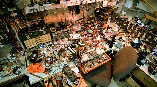 Shoe Store S Stock Room