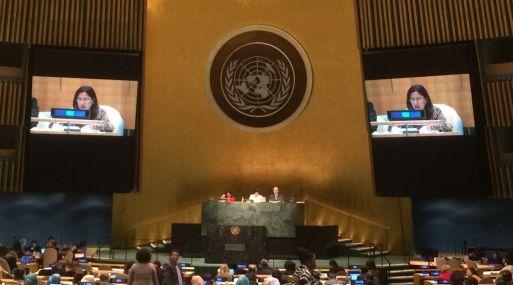 Ministra Huaita participó en sesión de la Comisión de la Condición Jurídica y Social de la Mujer de la ONU.