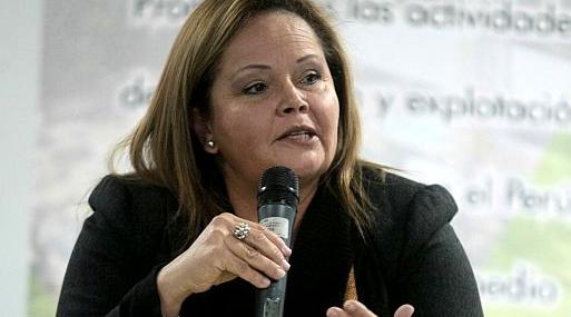 La nueva ministra de Energía y Minas, Rosa María Ortiz.