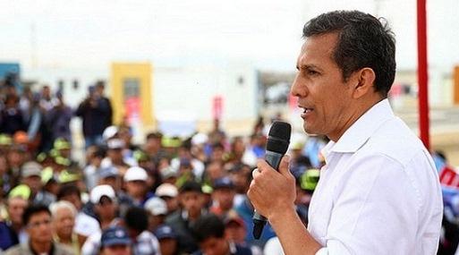 El presidente Ollanta Humala inauguró hoy obras de electrificación en Puno.