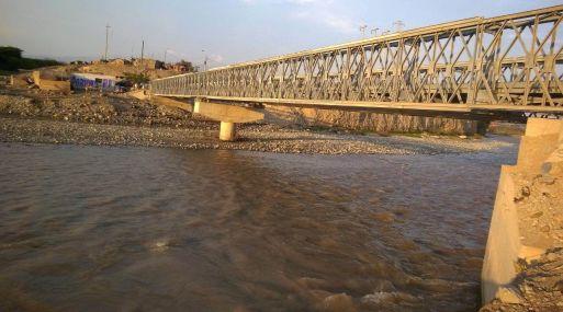 Obras de infraestructura en Ica. Foto: MTC