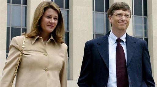 Bill Gates se casó con Melinda Ann French en 1994.