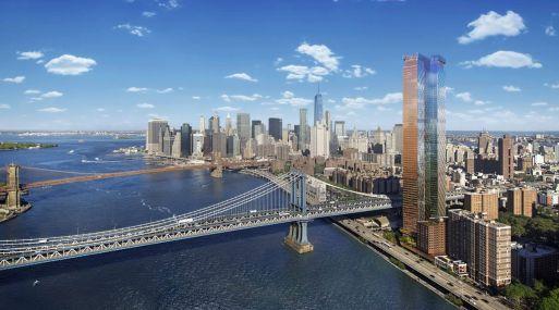 Los departamentos de la torre One Manhattan Square no estarán a la venta en los EE.UU. hasta comienzos del año que viene.