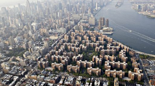 Stuyvesant Town-Peter Cooper Village es el complejo de departamentos más grande de Manhattan. (Bloomberg)