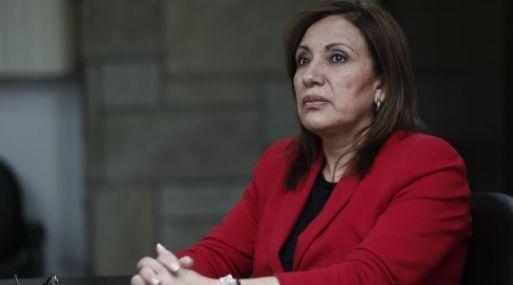 Procuradora Julia Príncipe fue destituida por el Ministerio de Justicia. (Foto: USI).