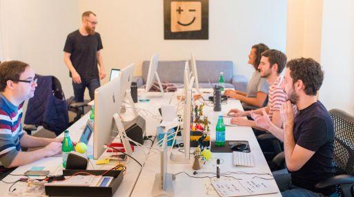Oficina de Digit, una compañía financiera online. (Foto: Digit)