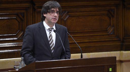 Carles Puigdemont, nuevo líder de Cataluña. (Foto: AFP)