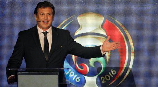 Presidente de la Conmebol, Alejandro Domínguez. (Foto: Reuters)