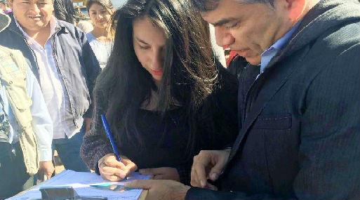 Julio Guzmán ha sido uno de los primeros en iniciar la recolección de firmas para inscribir a su nuevo partido.