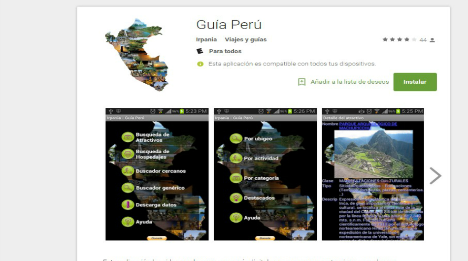 App, Apps peruanos, iOs, Android, Google Store, Apple Store