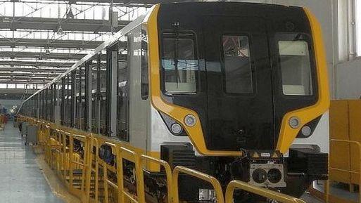 Uno de los trenes fue sometido a una prueba dinámica en la pista de pruebas VUZ Velim en la República Checa durante julio.