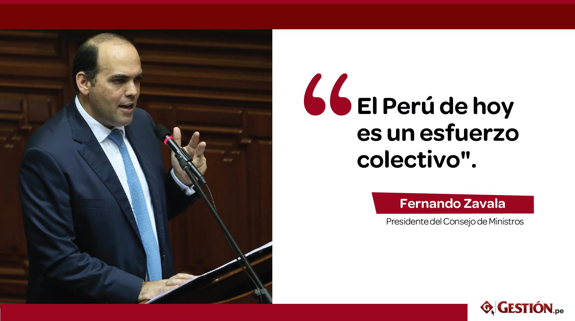 PPK, presidente del Consejo de Ministros, Fernando Zavala