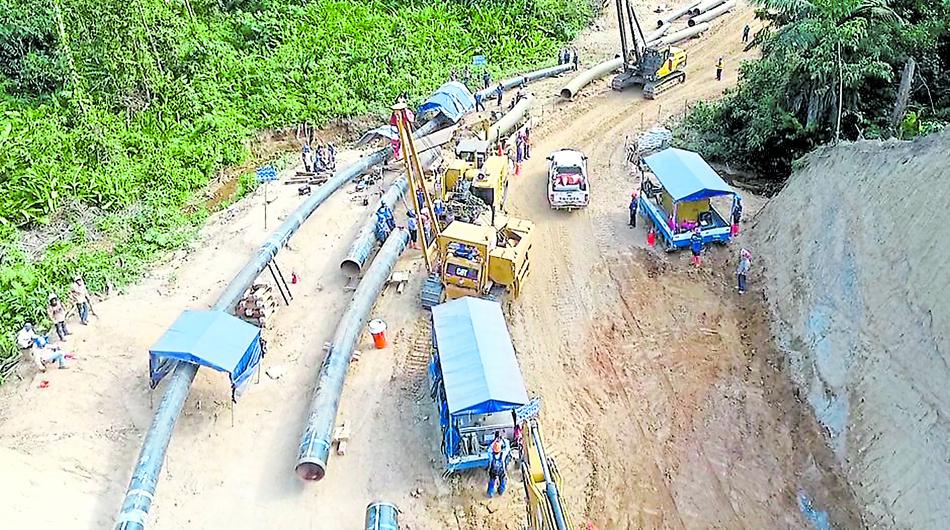 El pool de bancos que financiará el gasoducto del sur ha presentado una tercera propuesta al Gobierno.