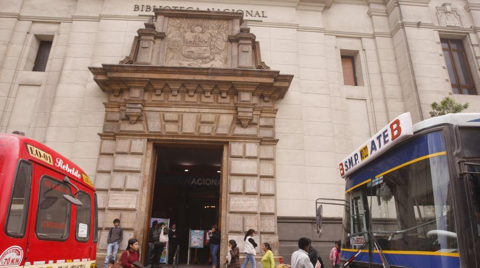 Biblioteca Nacional, cultura peruana, libros de colección