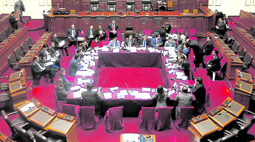 Comisión de Constitución se alista a votar dictamen sobre fortalecimiento de la UIF.