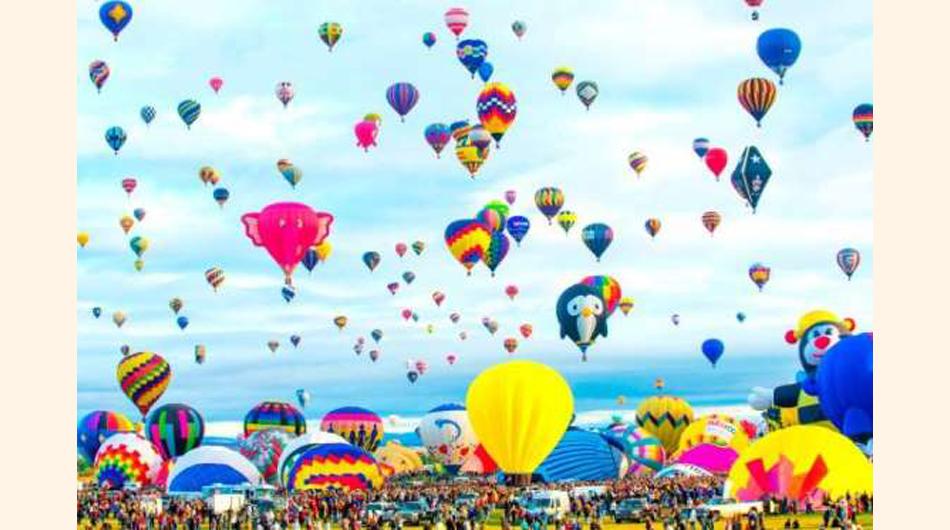 festival, globos aerostáticos