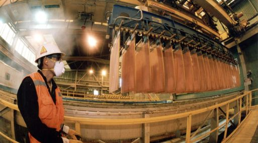 A las 1123 GMT, el cobre a tres meses en la Bolsa de Metales de Londres (LME) perdía un 0.83% a 4,774 dólares la tonelada.