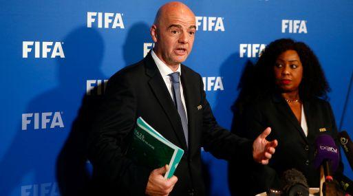 Gianni Infantino, presidente de la FIFA. (Foto: Reuters)