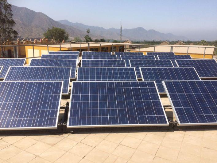 Reino Unido, energía solar, educación en el Perú