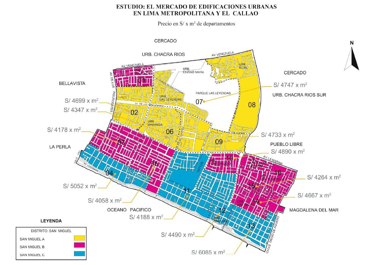 Precios de viviendas en un mismo distrito pueden variar hasta en 60%