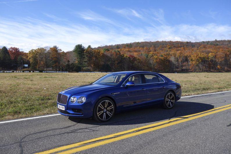 autos de lujo, Bentley Flying Spur, Rolls-Royce Ghost