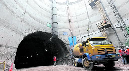 Las obras de la Línea 2 tienen  avance del 13%, indica Ositran.
