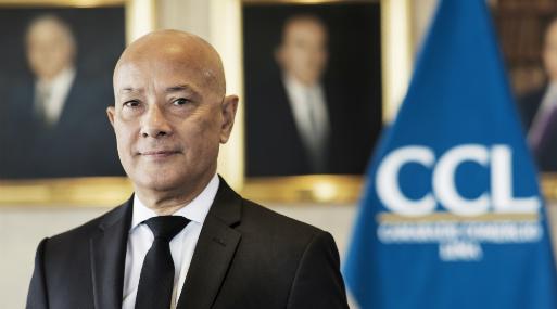 Mario Mongilardi, presidente de la Cámara de Comercio de Lima.