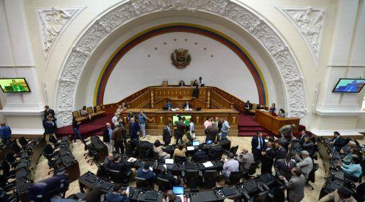 Asamblea Nacional de Venezuela. (Foto: AFP)