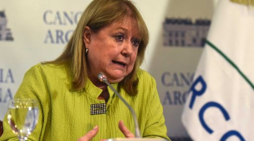 Canciller de Argentina, Susana Malcorra. (Foto: Bloomberg)