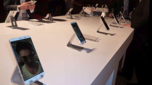 Huawei hizo la presentación del Smartphone Mate 9 para Latinoamérica. (Foto: Javier Parker/enviado especial)