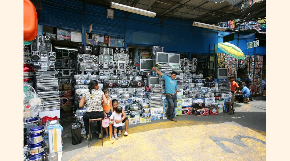 El Hueco, malls, Centros comerciales