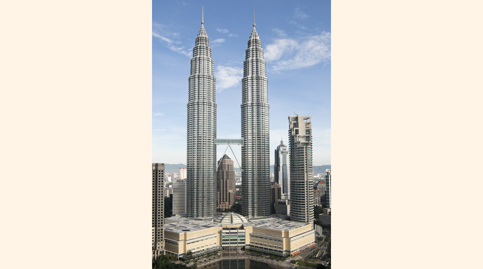 Las Torres Petronas de Malasia.