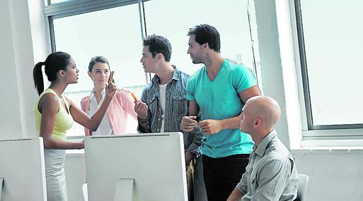La comunicación directa puede evitar conflictos por la temperatura del aire acondicionado.