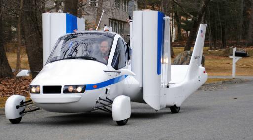 Transition, el auto volador de Terrafugia. (Foto: Terrafugia).
