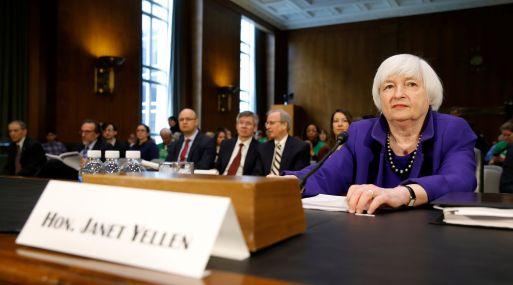 Janet Yellen, presidenta de la Fed. (Foto: Reuters)
