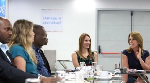 La titular del Midis, Cayetana Aljovín, se reunió con funcionarios de Angola y Mozambique.